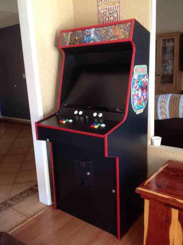 Customer Build - Full Size Arcade - 0001