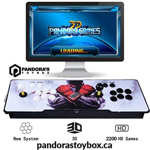 Pandora's Toy Box | Retro Games Console Pandora's Box 6s 1388 games